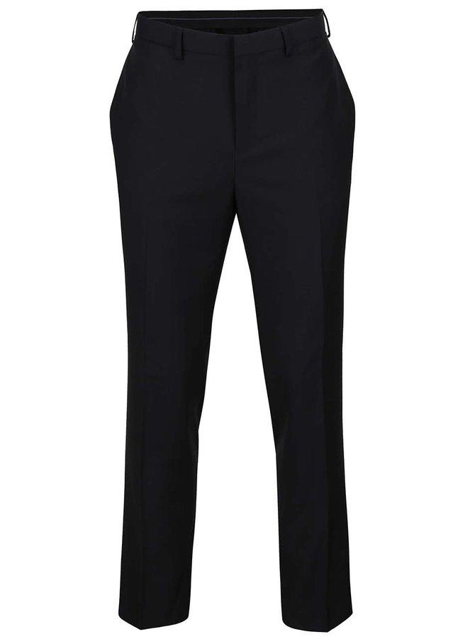 Černé slim fit kalhoty Burton Menswear London