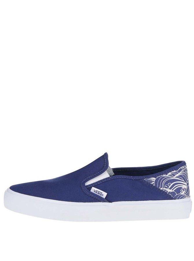 Modré dámské loafers Vans Sf