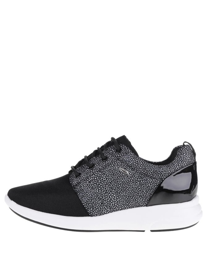 Pantofi sport negru & gri Geox Ophira