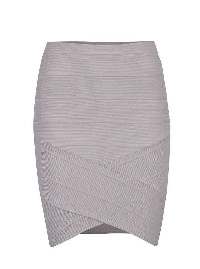 Šedobéžová sukně Miss Selfridge