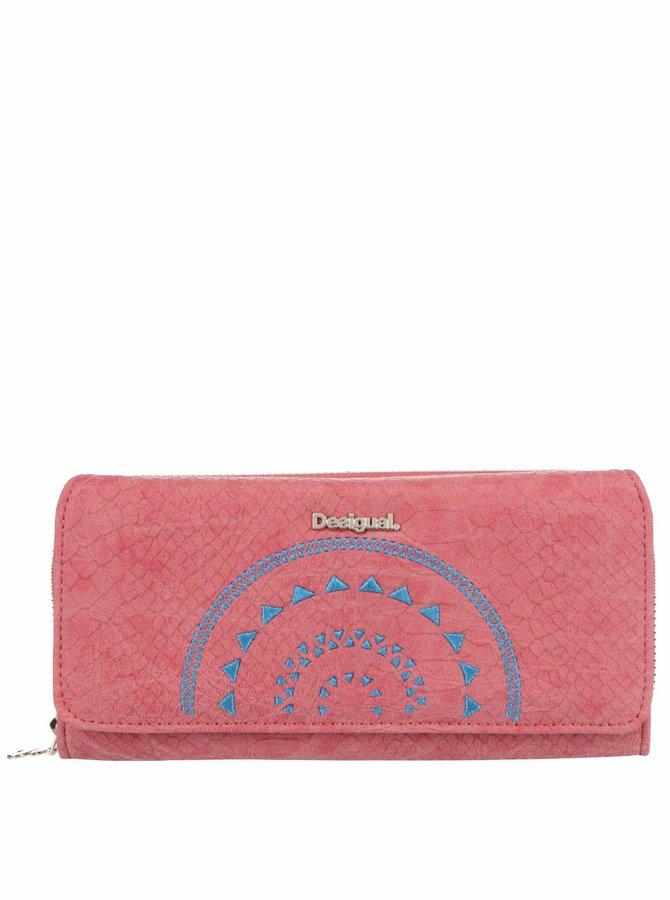 Korálová peněženka Desigual Calypso Maria