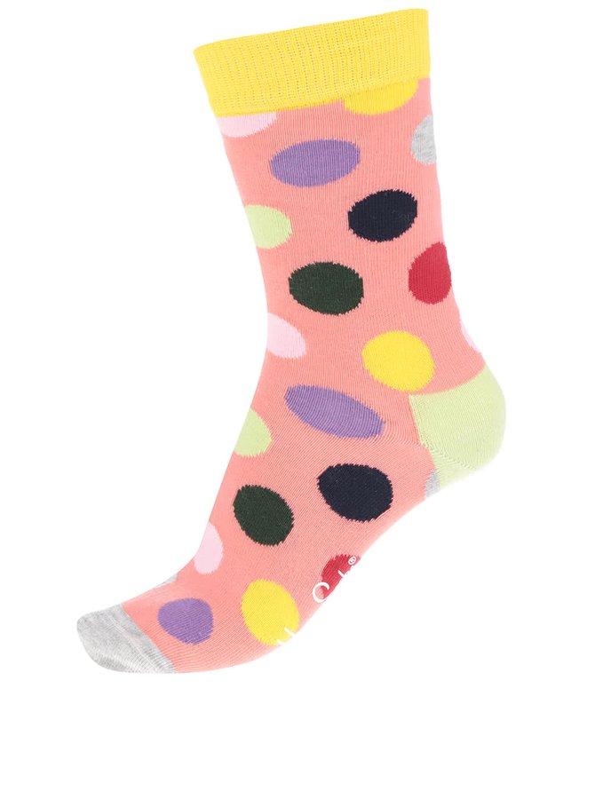 Șosete portocalii Happy Socks Big Dot