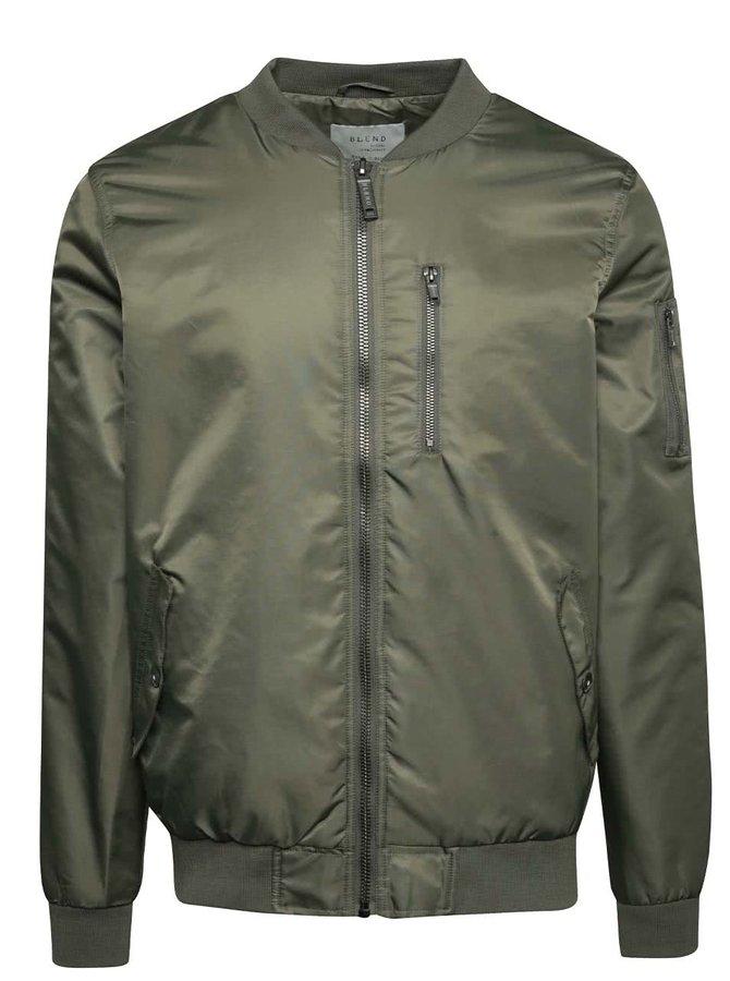 Jachetă bomber kaki Blend