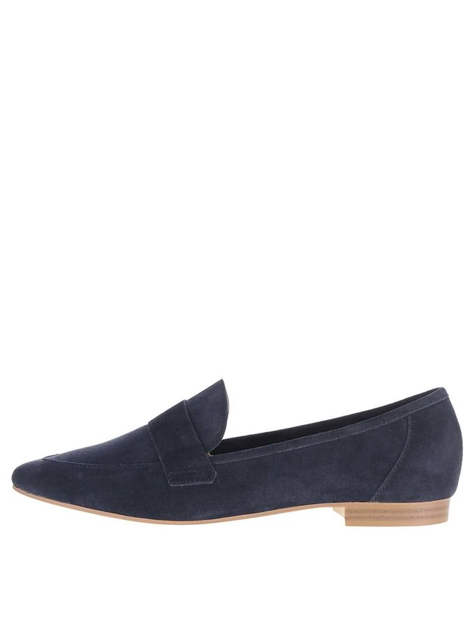 Pantofi loafer albastru închis Pieces Palometa