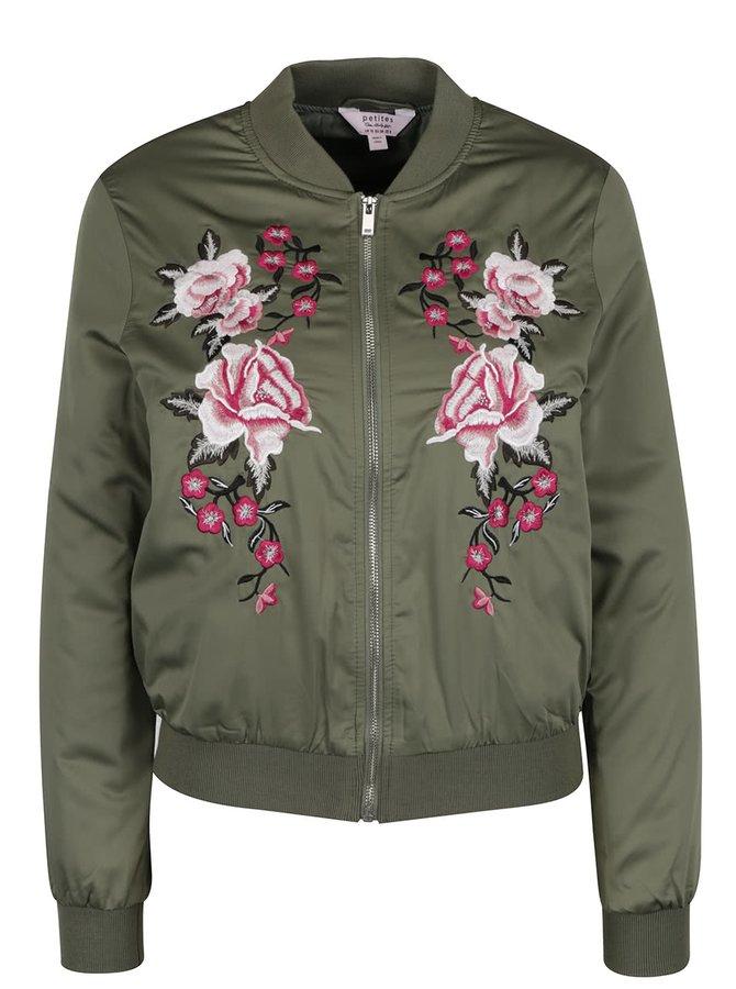Jachetă bomber Miss Selfridge Petites cu căptușeală