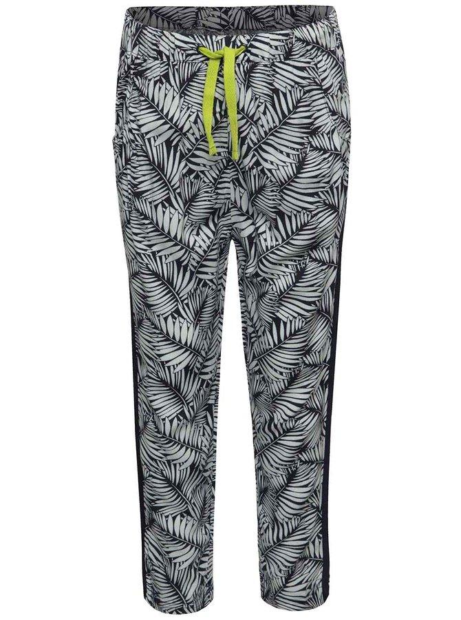 Pantaloni sport albastru & alb Boboli cu imprimeu pentru fete