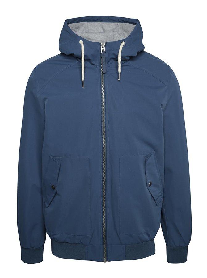 Tmavě modrá lehká bunda s kapucí Jack & Jones Harlow