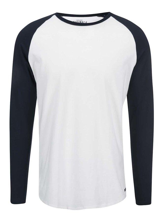 Bluză albă cu mâneci raglan Jack & Jones Stan
