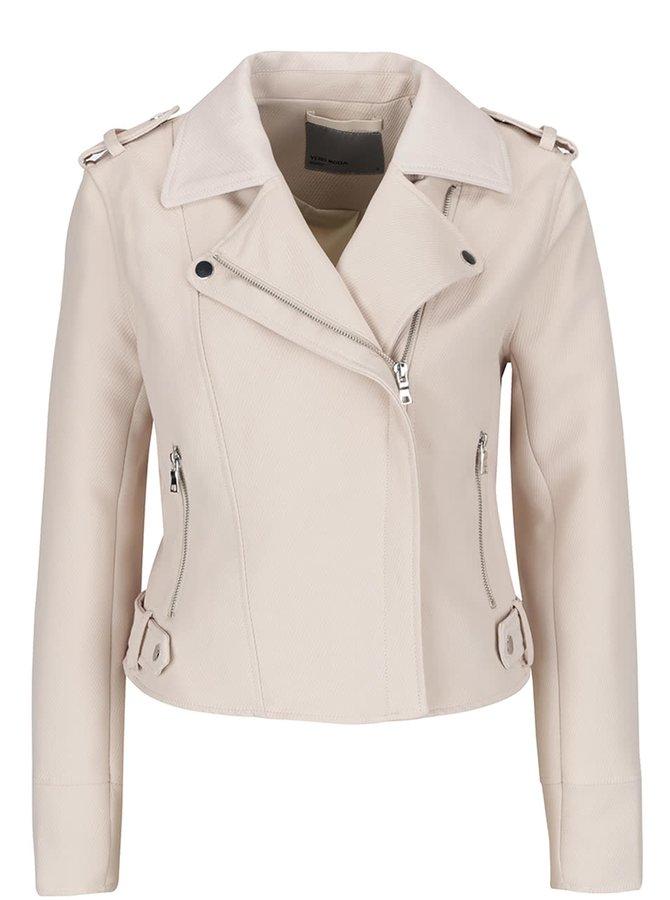 Jachetă crem VERO MODA Sofia