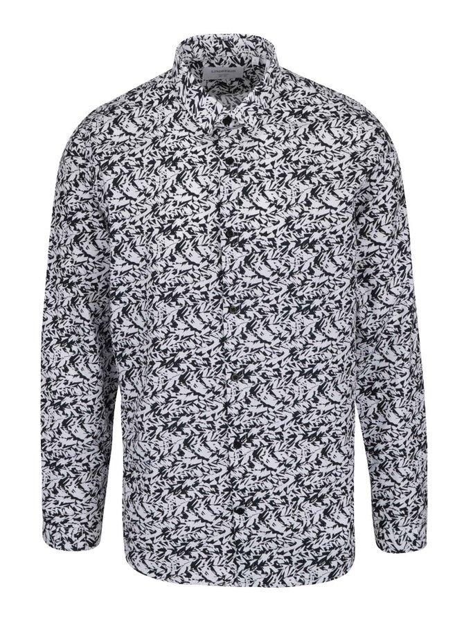 Černo-bílá vzorovaná košile Lindbergh