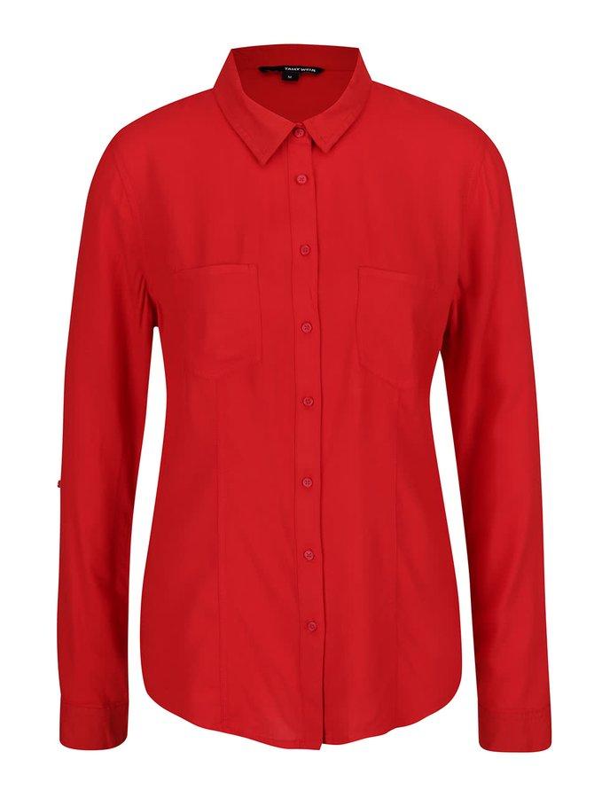 Červená košile TALLY WEiJL