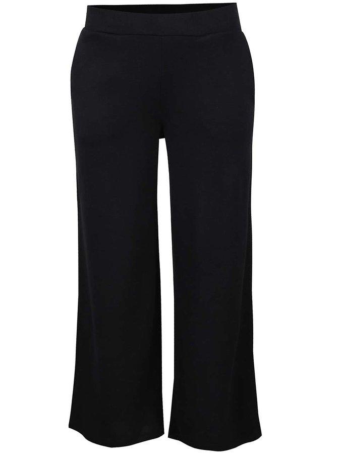 Pantaloni negri culottes VILA Lune