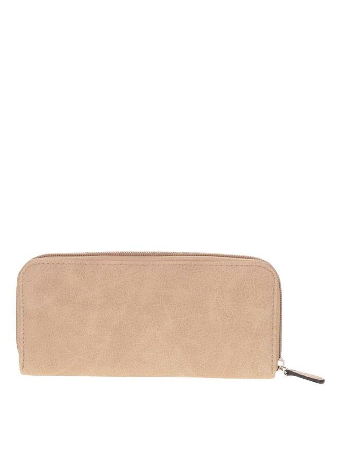 Béžová peněženka Pieces Ladele