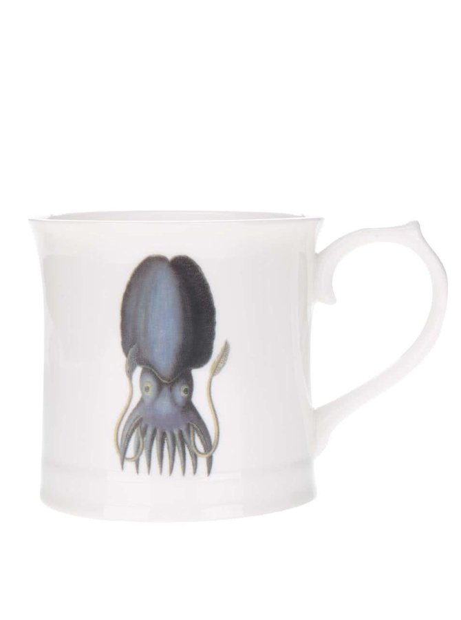 Krémový hrnek s potiskem chobotnice Magpie Curios
