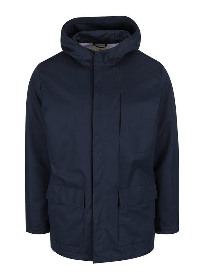 Jachetă albastră Selected Homme New Blake cu glugă