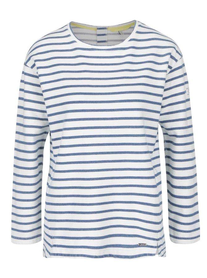 Bluză crem cu albastru Tom Joule Clemence Salt
