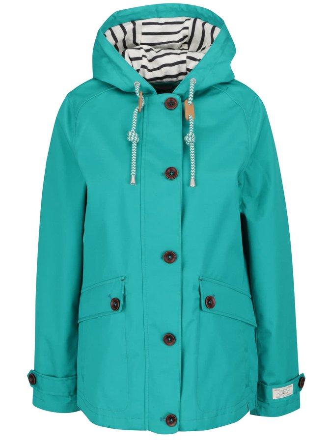 Zelená dámská nepromokavá bunda s kapucí Tom Joule Coast