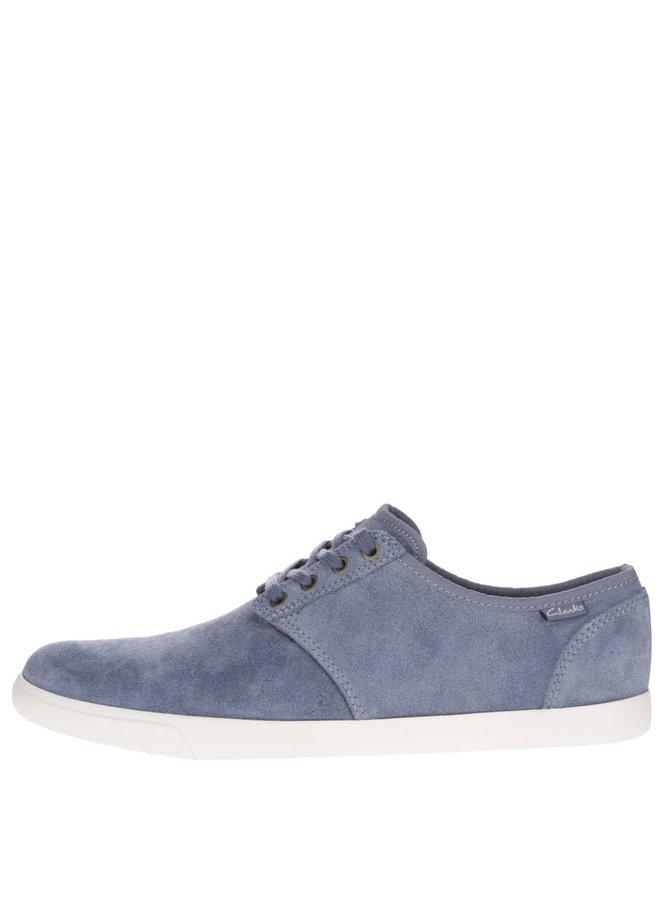 Pantofi sport albaștri Clarks Torbay Lace