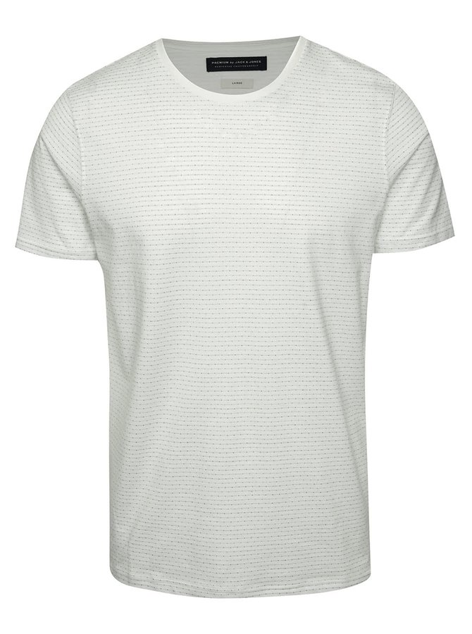 Krémové triko Jack & Jones Conor