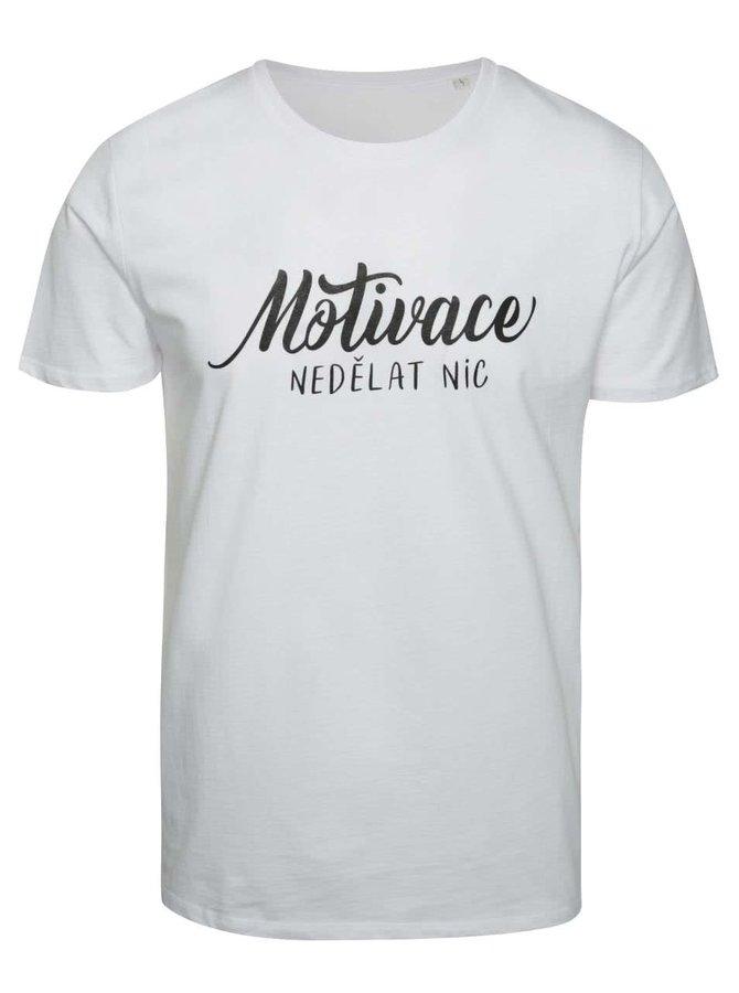 Bílé pánské triko ZOOT Originál Motivace