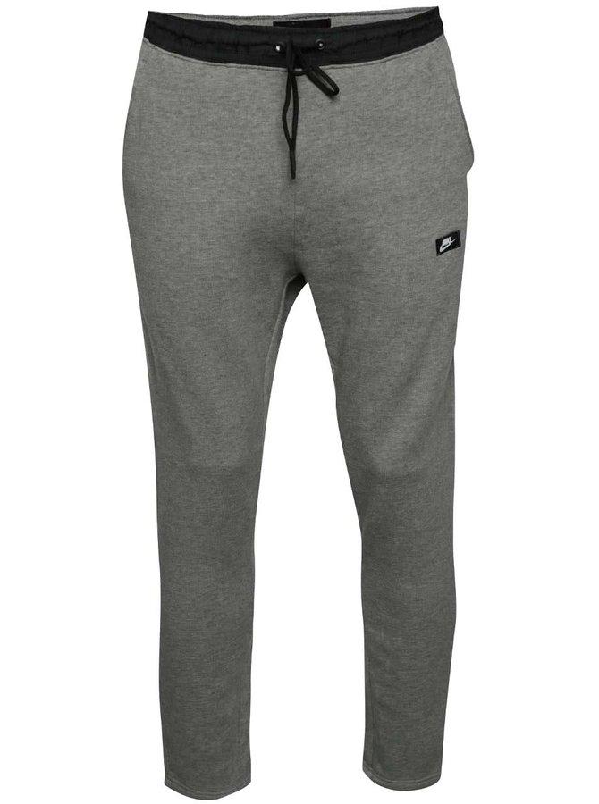 Šedé pánské slim fit tepláky Nike Modern Pant