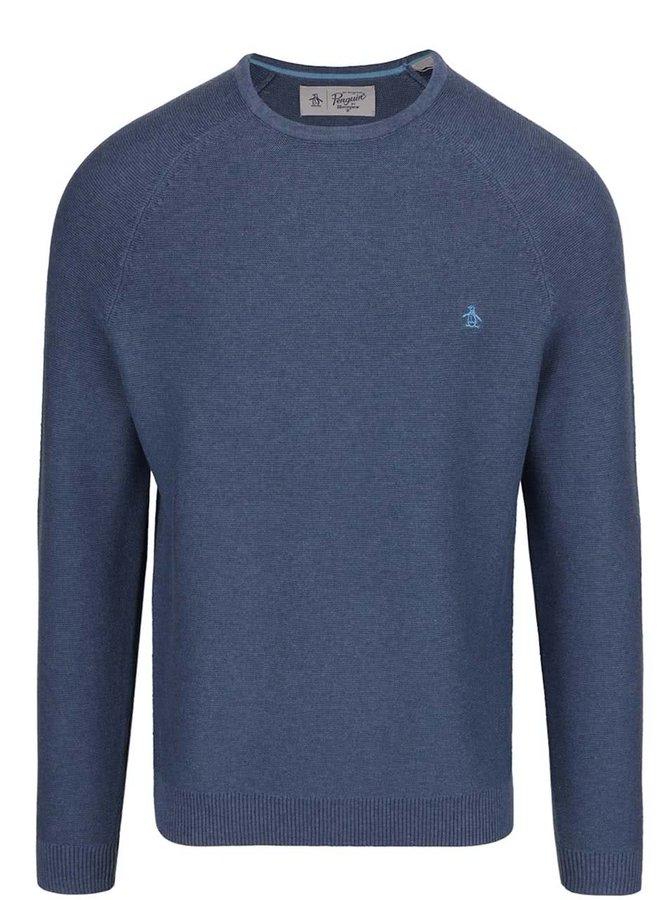 Modrý svetr Original Penguin Link Stitch