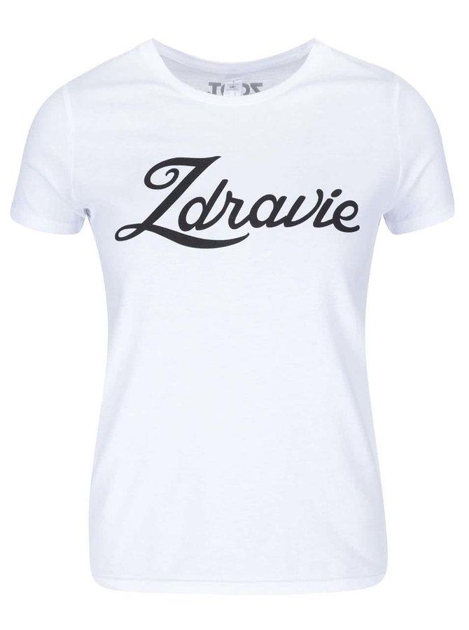 Bílé dámské tričko ZOOT Originál Zdravie