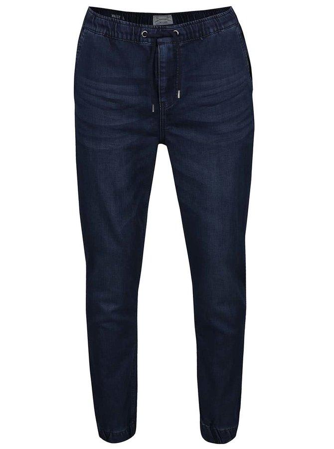 Tmavě modré kalhoty ONLY & SONS Kalle