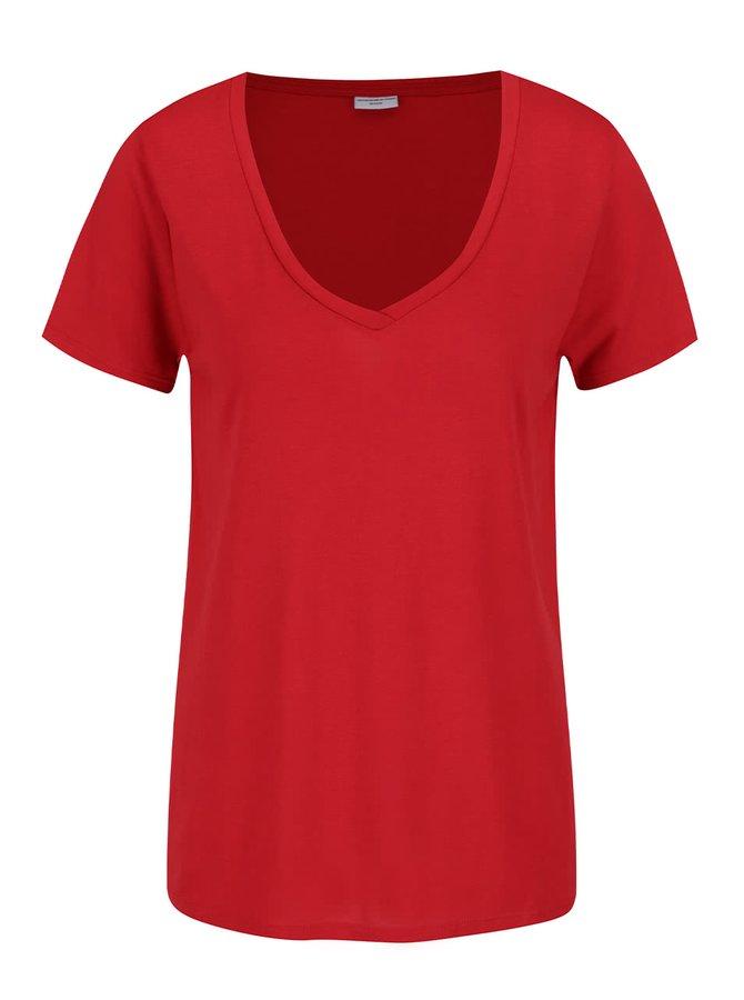 Tricou roșu Jacqueline de Yong Spirit