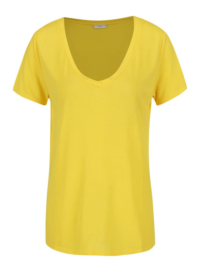 Tricou galben Jacqueline de Yong Spirit