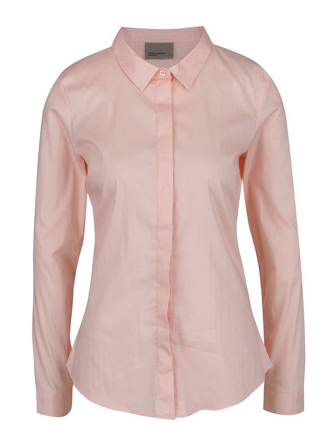 Růžová košile VERO MODA Lady