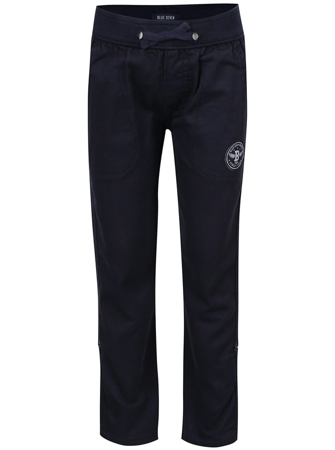 Tmavě modré klučičí kalhoty Blue Seven