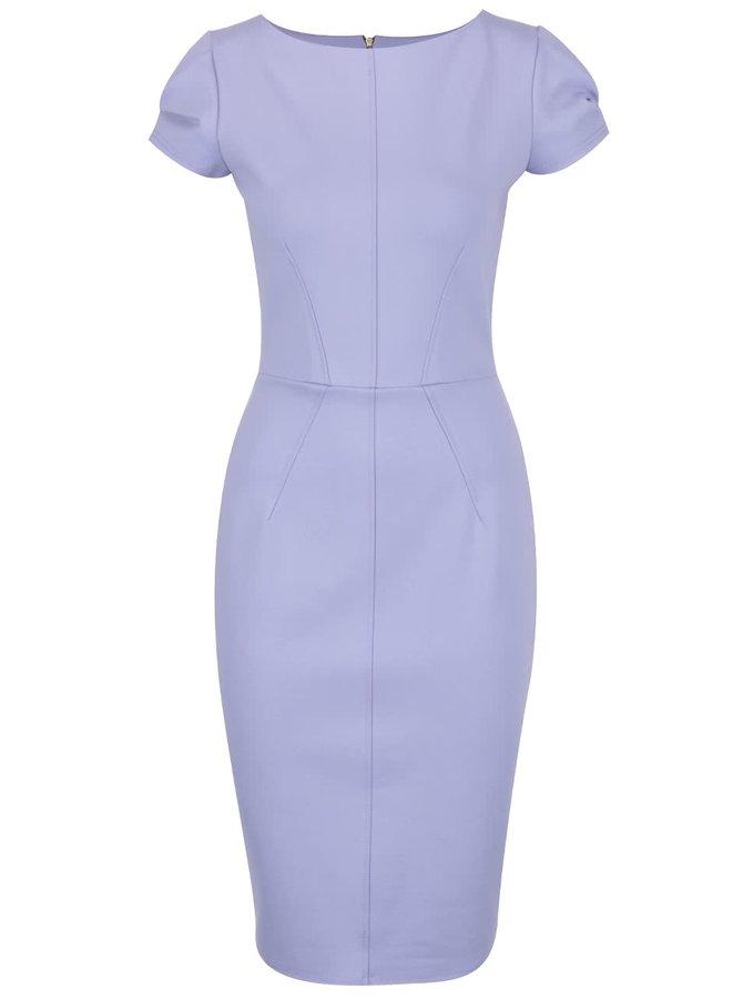 Fialové pouzdrové šaty Closet