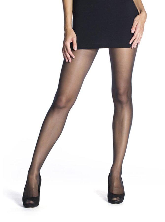 Černé punčochové kalhoty Bellinda Fascination 15 DEN
