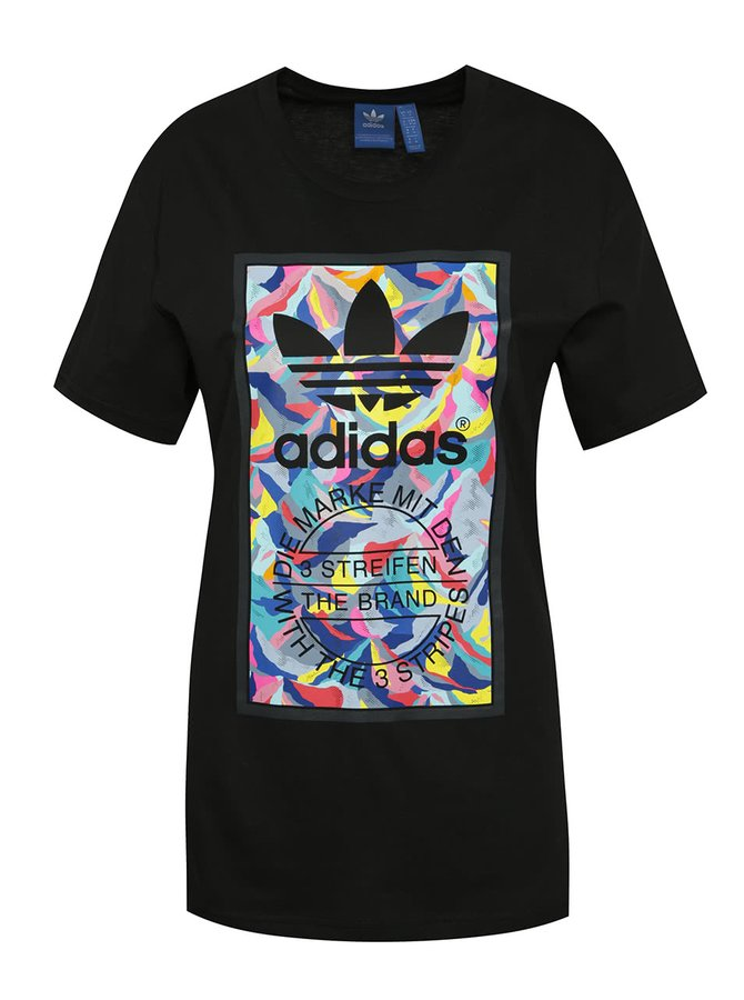 Černé pánské triko adidas Originals