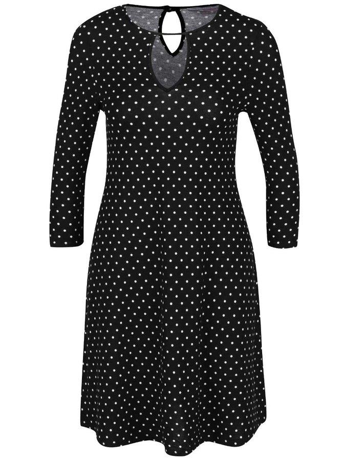 Rochie neagră Dorothy Perkins cu mâneci trei sferturi