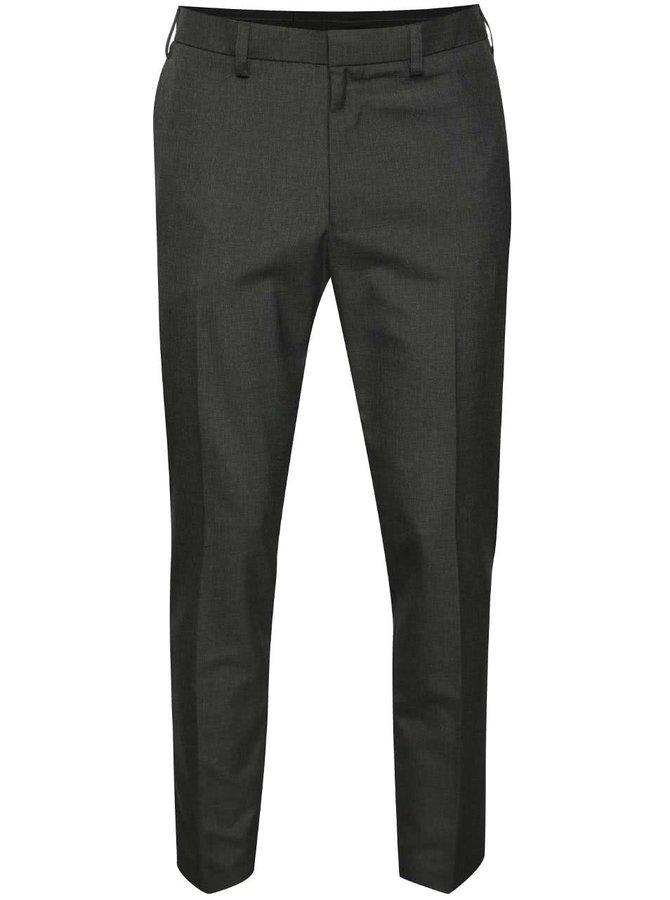 Pantaloni gri închis Burton Menswear London skinny