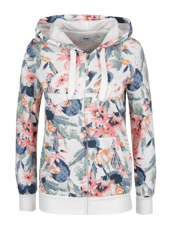 Hanorac multicolor ONLY Awesome Finely cu imprimeu floral
