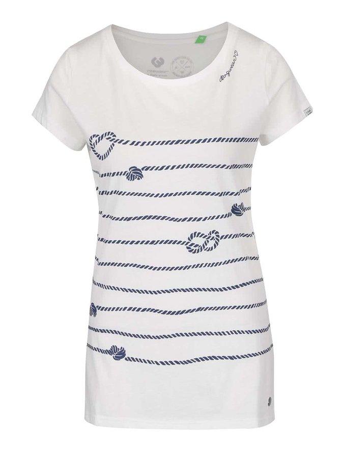 Krémové dámské tričko Ragwear Mint a Organic