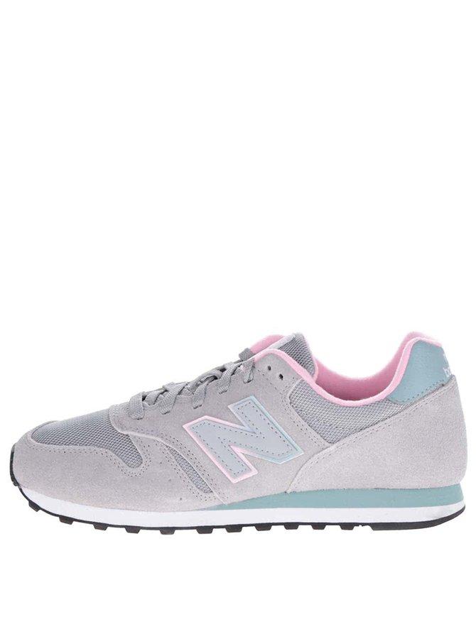 Pantofi sport gri&roz New Balance 373