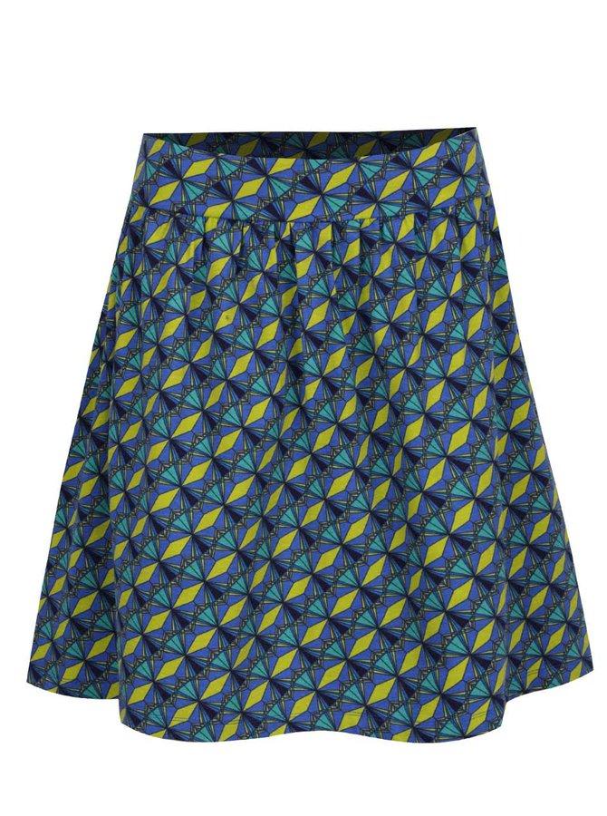 Zeleno-modrá vzorovaná sukně Tranquillo Rosina