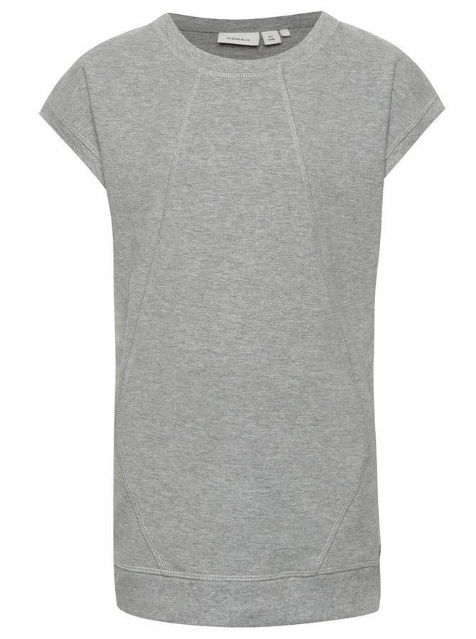 Šedé holčičí tričko name it  Henriette