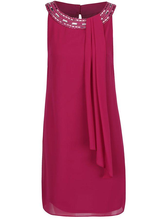 Rochie roz închis Billie & Blossom cu detalii