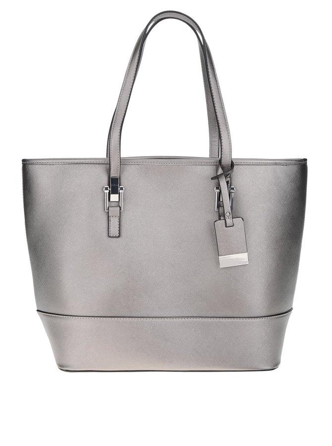 Shopper ve stříbrně barvě Miss Selfridge