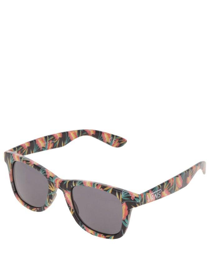 Černé dámské sluneční brýle s potiskem Vans Janelle Hipster