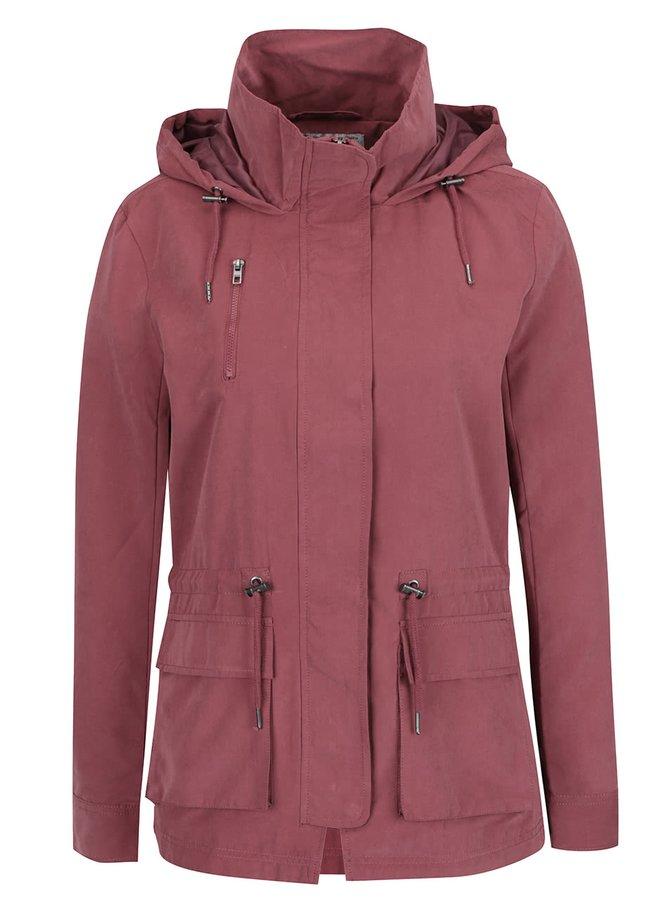 Jachetă parka subțire roz ONLY Starlight