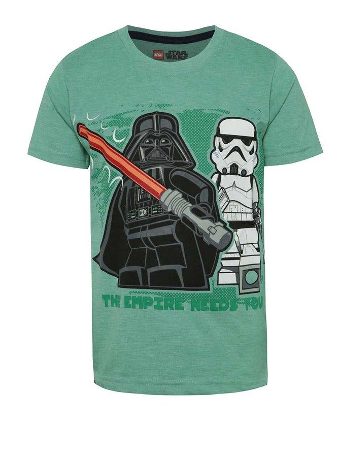 Zelené klučičí triko s krátkým rukávem LEGO Wear
