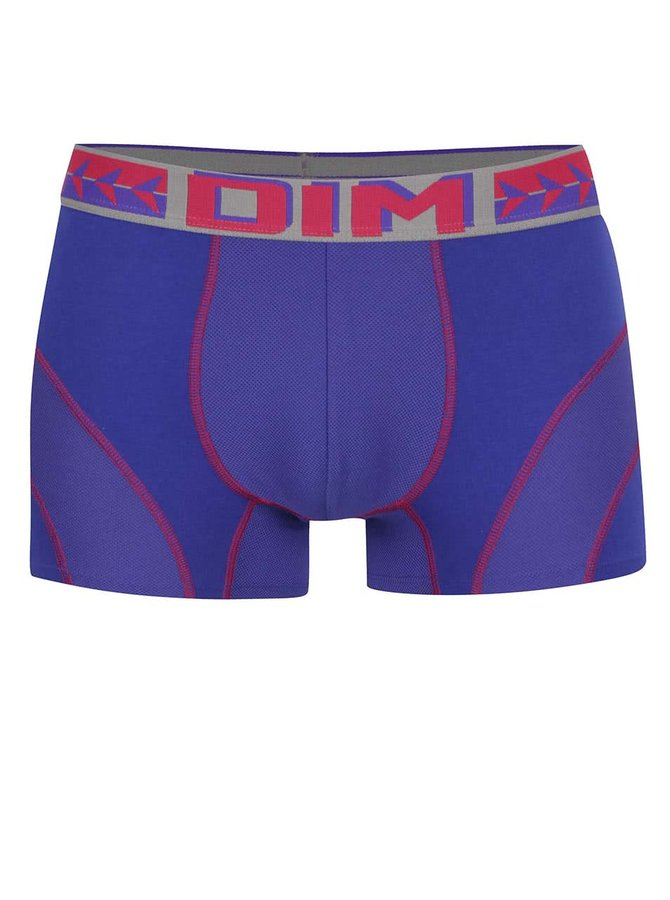 Červeno-modré boxerky DIM