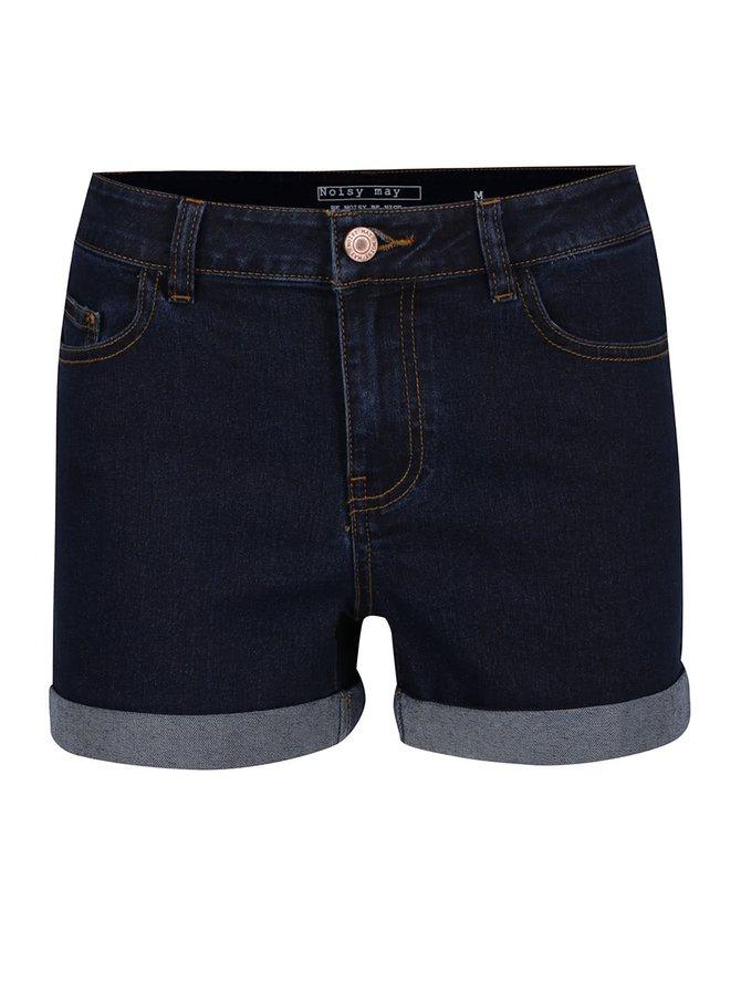 Tmavě modré džínové kraťasy Noisy May Be