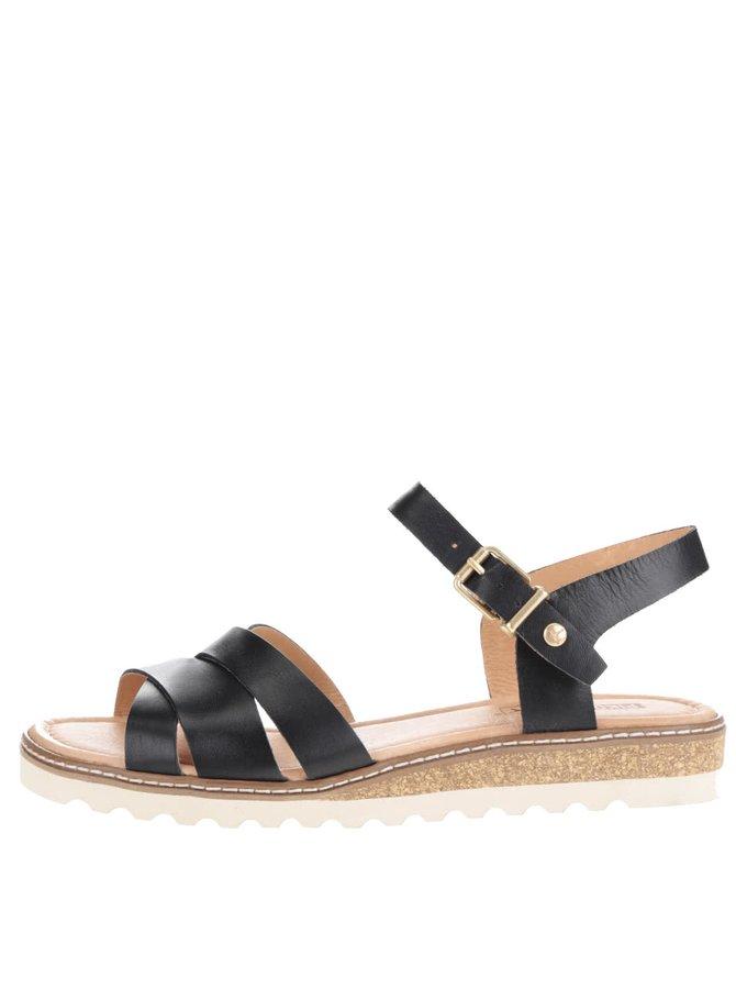 Sandale negre Pikolinos Alcudia din piele